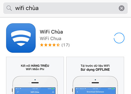 Hack wifi cho ios iphone với app wifi chùa
