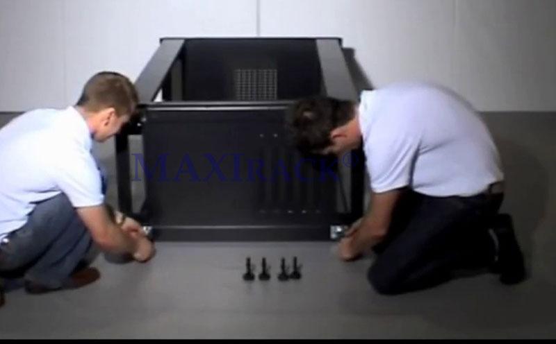 cách lắp tủ rack mạng