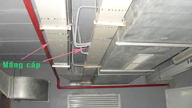 Máng cáp cable tray là gì, tại sao lên dùng máng cáp