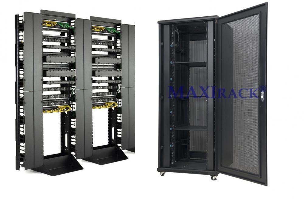 So sánh tủ cabinet và tủ open rack