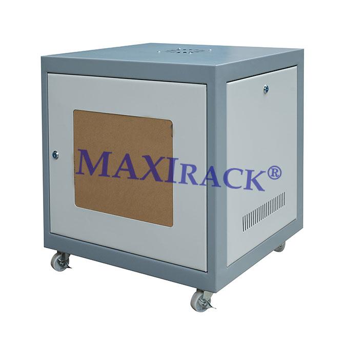 Tủ Mạng Maxi Rack 10U Cửa mica - Cửa lưới